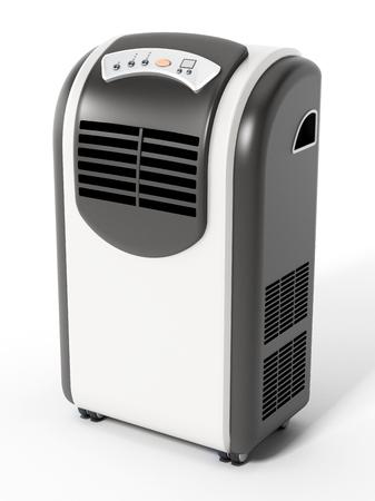 Generic illustration of mobile air conditioner. 3D illustration.