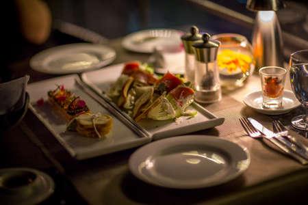 diner aux chandelles: cuisine d�ner