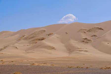 Gobi desert at Mongolia.Longgest desert in this world.