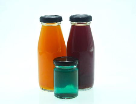 juice bottle: Juice bottle on white background