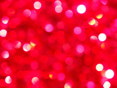 Festive, out of focus bokeh makes a fun background in red.