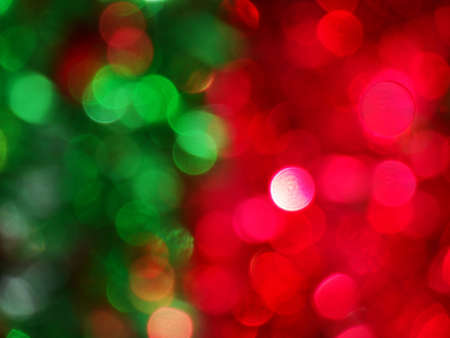 This festive bokeh makes a great background.