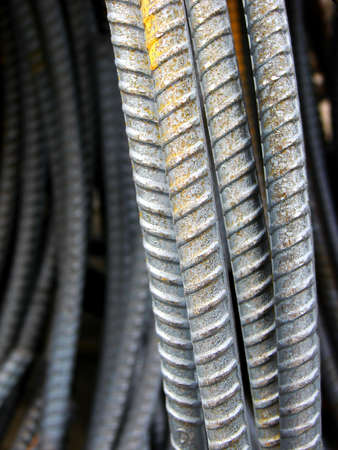Rebar coils are used to reinforce concrete construction.