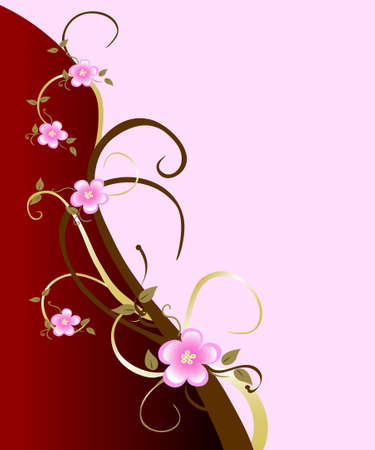 A classic spring background starring the pink cherry blossom. Great for mothers day or valentines.