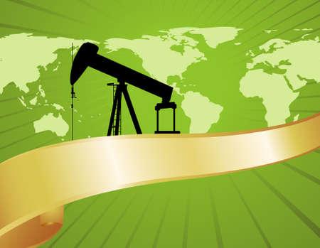 緑の石油生産や環境に優しい燃料のプラクティスに関するレポートに最適です。 写真素材