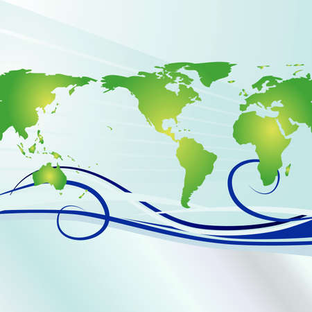 Earth Day Background Stock Photo