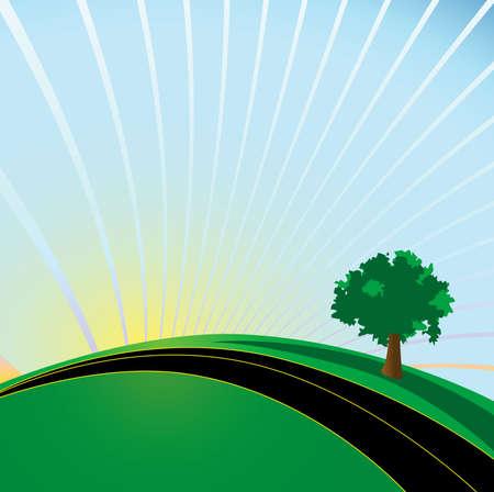 地球の日高速道路