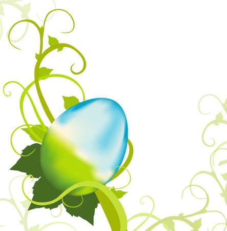 A delicate frame for your Easter Egg Hunt. Similar images in my portfolio.