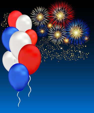 独立記念日、記念日や他の愛国的なイベントはこの図を祝んだことができます。