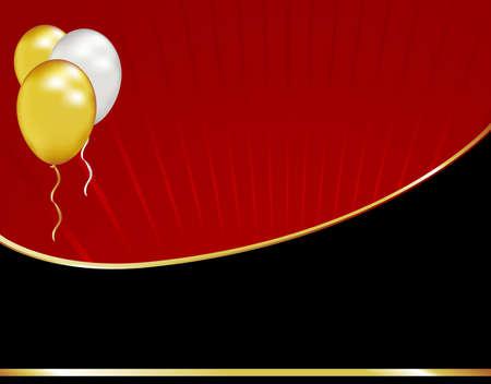 与这个简单的黑色领带背景一样庆祝毕业或周年纪念日。