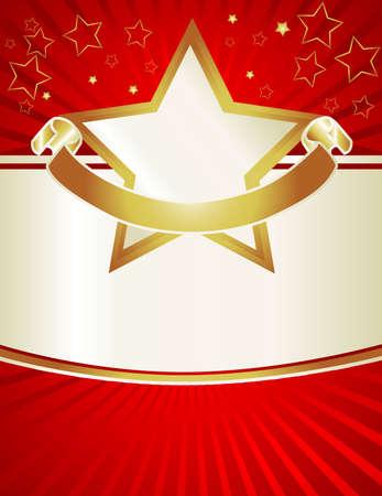 eventos especiales: Rojo, oro y perlas acentos en este carnaval moderno im�genes de color son asegurarse de que su plantilla se destacan. Fondo �til para eventos especiales, aniversarios de oro y diversi�n incluso Navidad abra las invitaciones de la casa o men�s. Esta ilustraci�n est� disponible