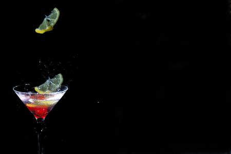 sophistication: Cocktail drop