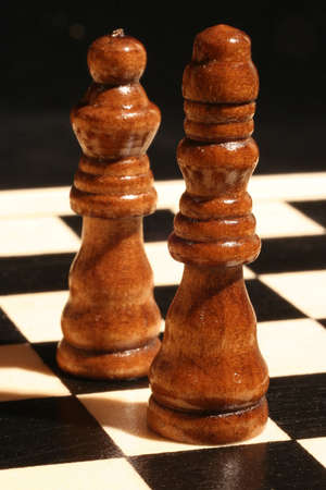 strategize: King and queen couple