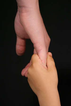 Child holding moms hand Stock Photo - 463142
