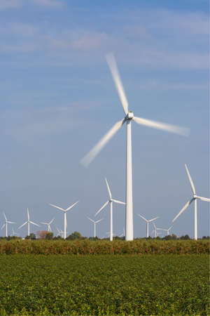 windpower: Wind turbines generating clean energy. Windpower.