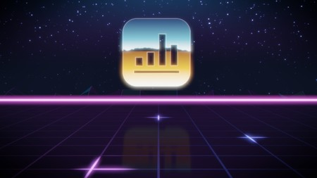 chrome icon of apple app analytics on synth background 新聞圖片