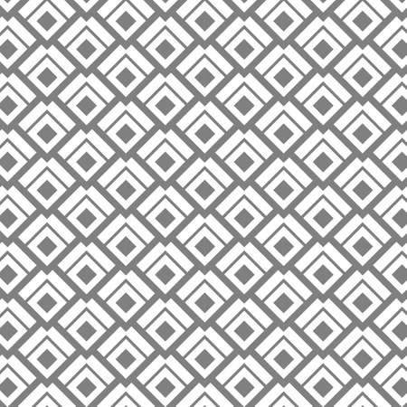 Rhombuses seamless pattern,  geometric  vector background.
