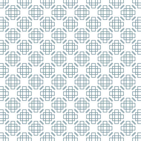 Geometric seamless pattern with rhombuses and rectangles.