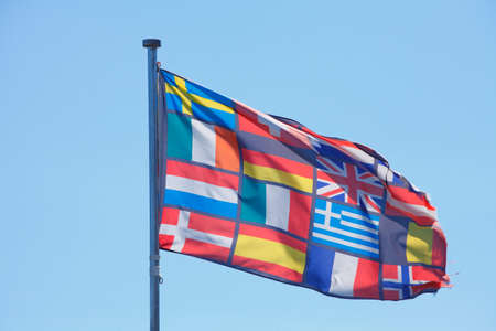 europeans: Europeans Flags
