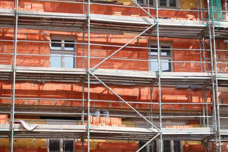 roemerberg: Construction Site Roemer Stock Photo