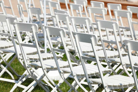 chairs: Wooden white Chairs