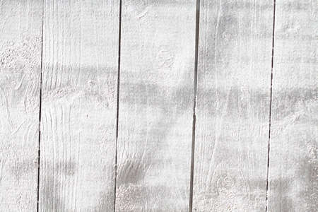 silver painted wooden boards