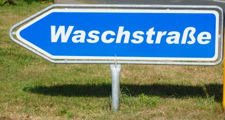 wash: Sign Car Wash