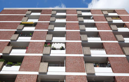 multifamily: Block of Flats, Bremen, Germany, Europe Editorial