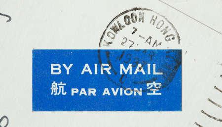 Poststmark By Air Mail, Hongkong