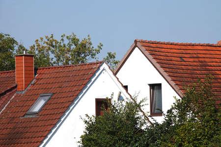 Residential Houses Stock Photo