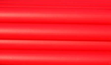 rote Kunststoffrohre