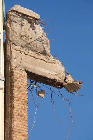 Ruins of a demolished  House