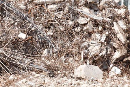 demolished house: Ruins of a demolished House