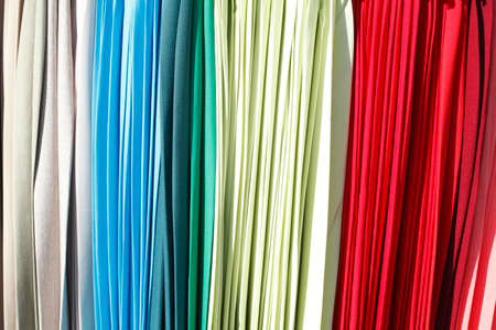 colorfully: colorfully hanging trousers