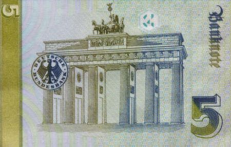 Old Fife Deutschmark Banknote, Bill