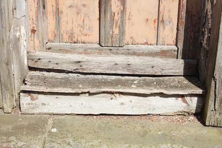 wooden door threshold