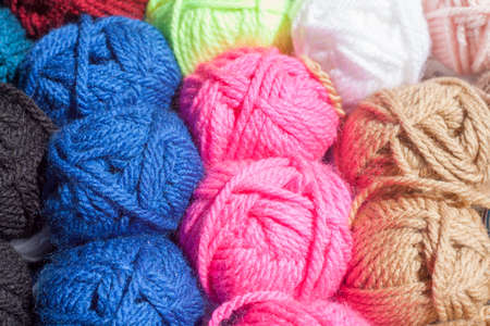 colorfully: colorful wool balls for knitting