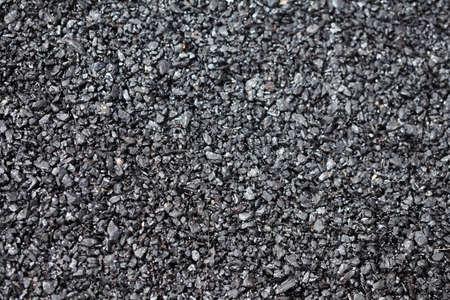 tar: fresh black tar, street asphalt