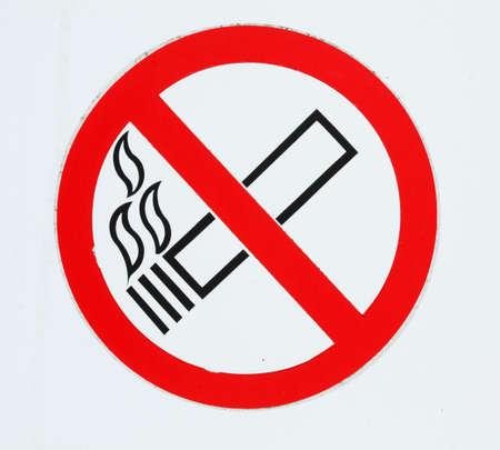 Sign no Smoking, Smoking Ban