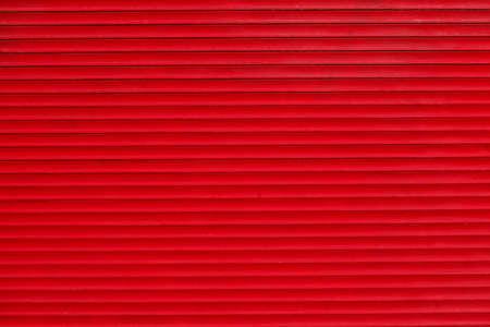 red closed shutter Reklamní fotografie - 85898438
