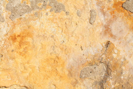 Brown Sandstone Wall Background image, Textur