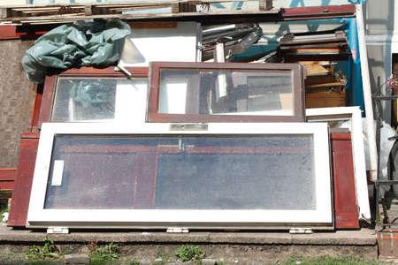 old door and window frames