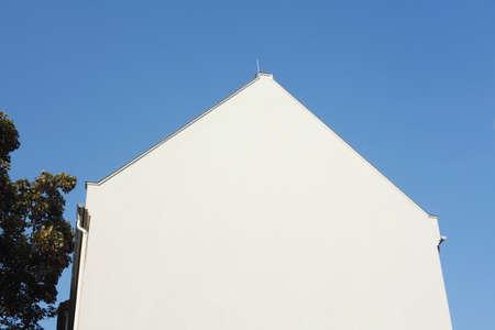 Maison d'habitation, mur de maison, toit
