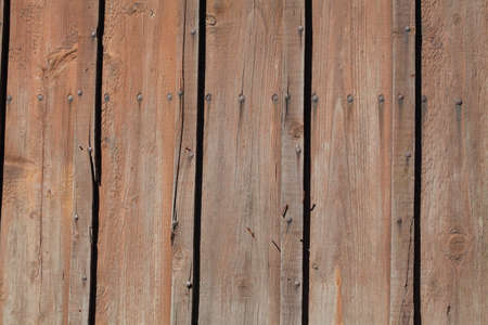 Dark brown old wooden boards, background picture, texture