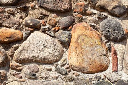 Stones, wall, stone wall, city wall, Neubrandenburg, Mecklenburg-Vorpommern, Germany, Europe