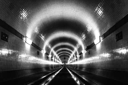 Elbe Tunnel, Germany photo