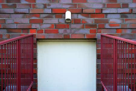 The door on brick wall Stock Photo - 16573187