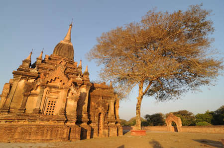 A monastery in Bagan, Myanmar  Stock Photo