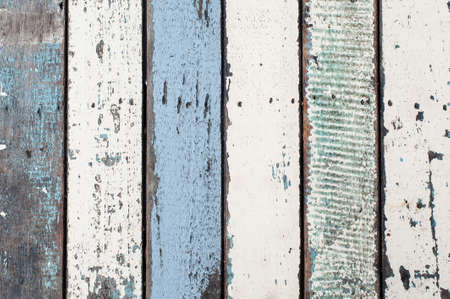 Colorful wooden texture photo