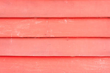 Red wooden wall photo